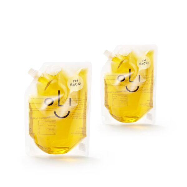 olijfolie door de brievenbus